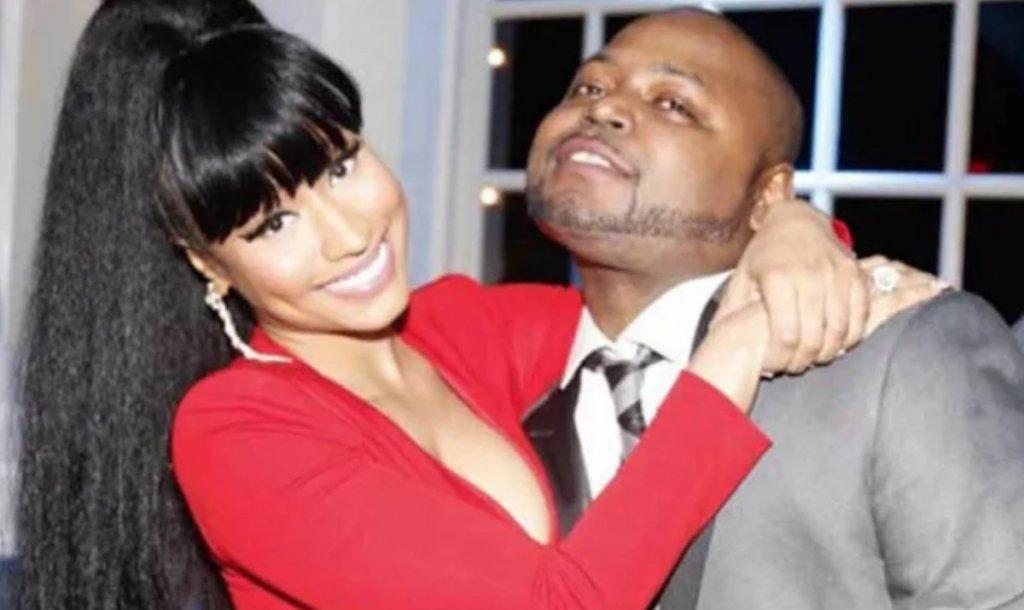 Nicki Minaj with brother