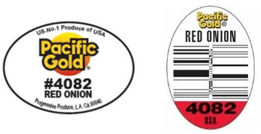 Pacific Gold Red Onion recall