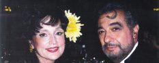 Marci Weiner and Placido Domingo 50%