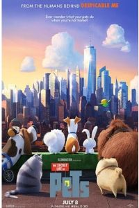 The Secret Life of Pets 2016 Dual Audio [Hindi – English] 480p BluRay 300MB movie free Download