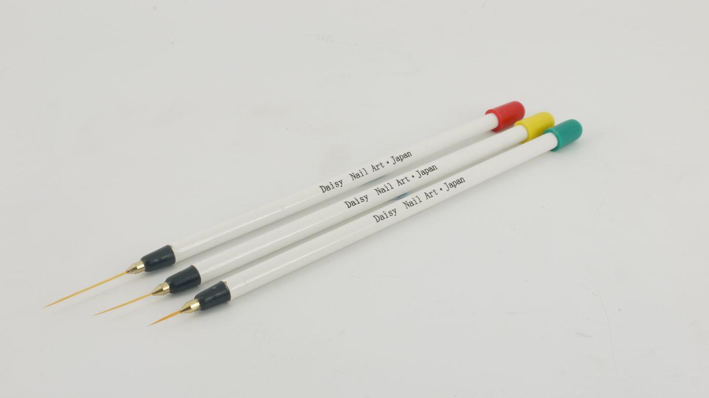 Thin Nail Art Brushes 3pcs