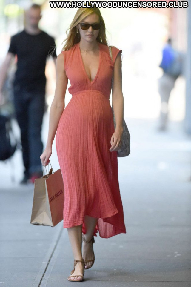 Candice Swanepoel New York Shopping Posing Hot Babe Celebrity New