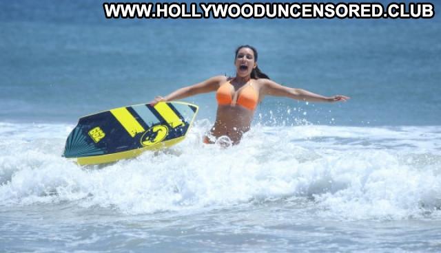 Kim Kardashian Posing Hot Mexico Paparazzi Bikini Beautiful Celebrity