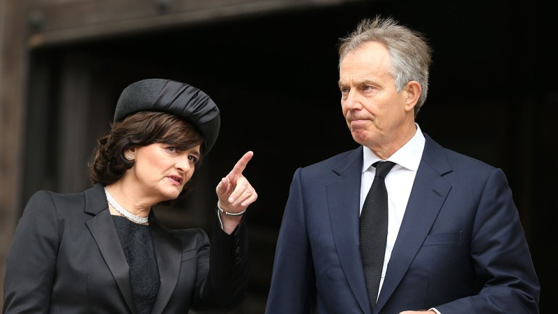 Tony Blair Wife Cherie Blair to Exec Produce Middle East-Based Film – The  Hollywood Reporter