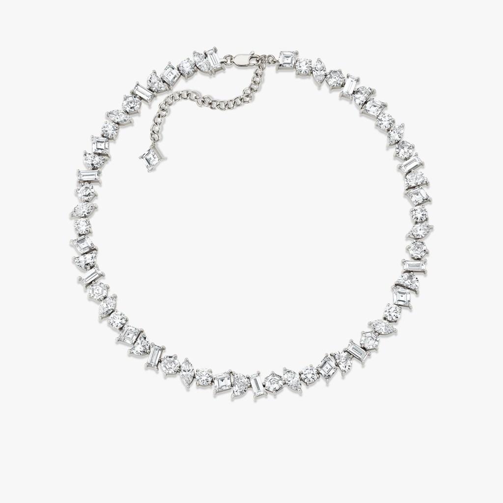 Vrai - Illuminate Choker - White Gold - Jewelry