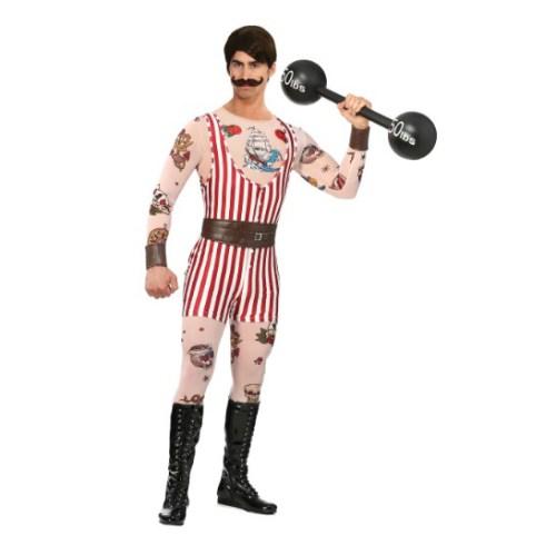 Men's Vintage Strong Man Halloween Costume