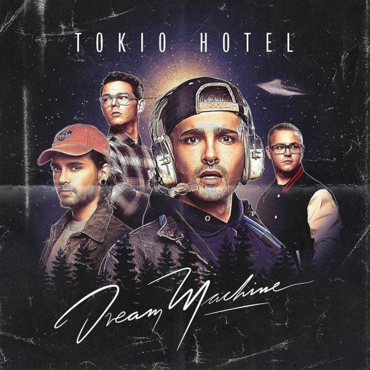 Tokio Hotel - Dream Maschine Cover