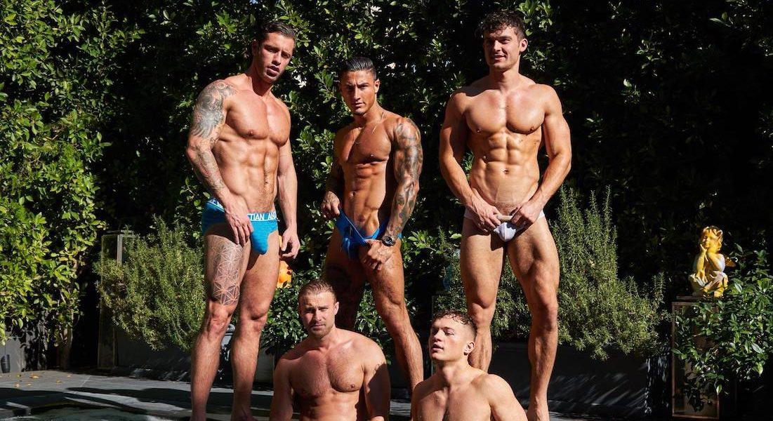 """Fünf """"Hetero""""-Influencer ziehen zusammen, um schwule Inhalte zu drehen!"""