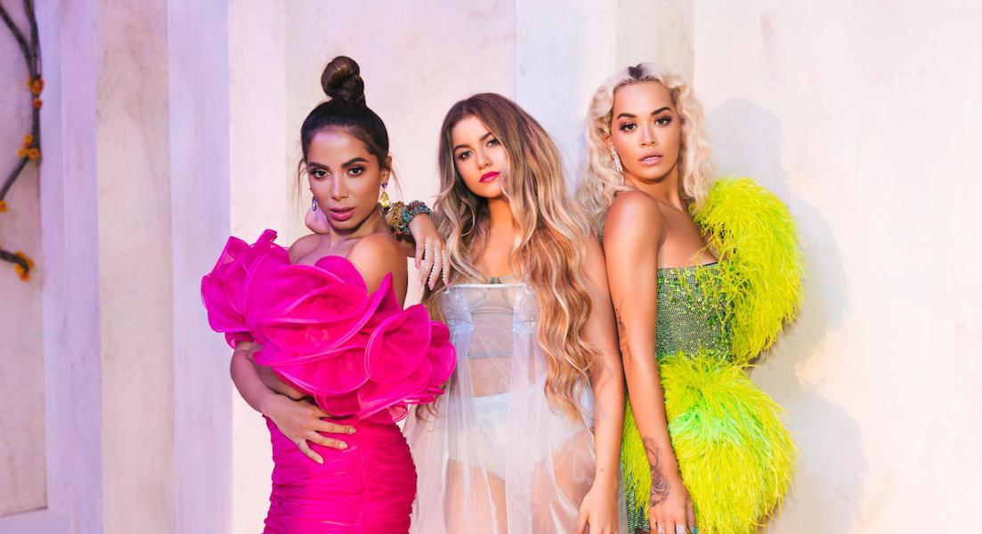 Sofia Reyes, Anitta und Rita Ora starten das Rennen um den Sommerhit 2019!