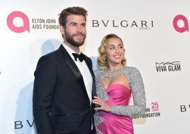 Miley Cyrus and Liam Hemsworth 'avoided each other' at pre-Oscars party
