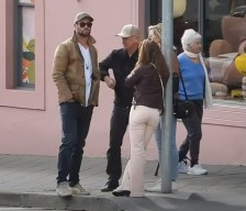 Spotted: Chris Hemsworth & Elsa Pataky step out with his parents