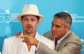 Brad Pitt and George Clooney thriller going to Apple
