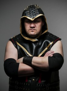DJ Hyde calls himself The Lariat God. How many opponents can he send over the top rope with that devastating move?