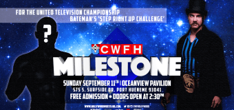 MILESTONE: Bateman's 'Step Right Up' Challenge for the United Television Championship – What you need to know
