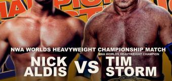 Nick Aldis challenges Tim Storm this Sunday