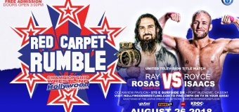 Red Carpet Rumble: Rosas vs. Isaacs