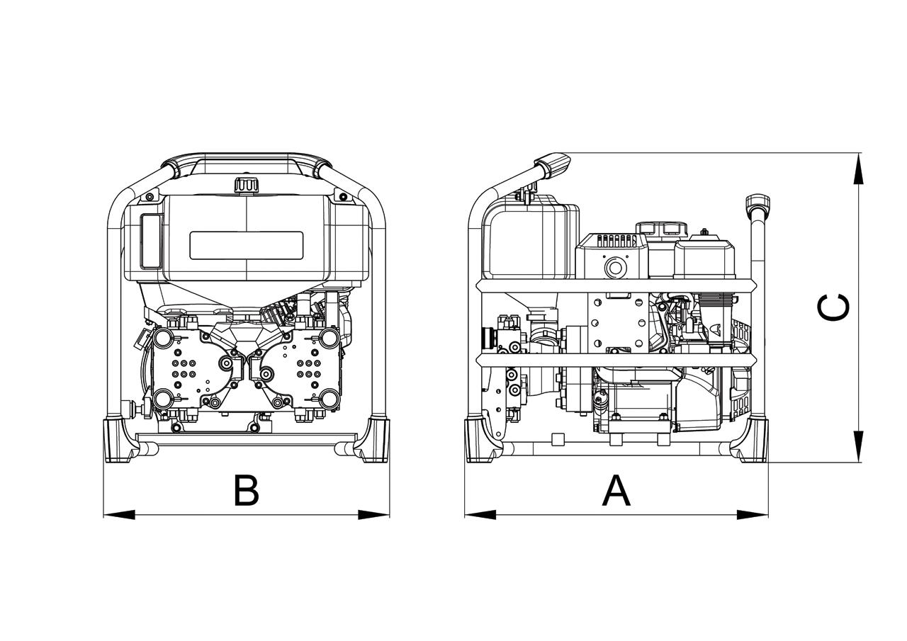 Gas Petrol Quattro Pump Sr 40 Pc 4 S