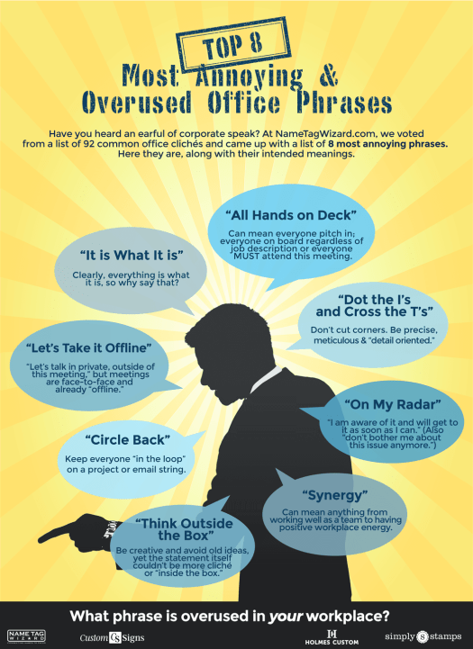 8 Most Annoying Office Cliches
