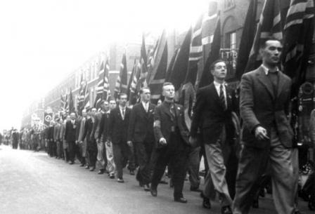 Image result for photos british fascists saute
