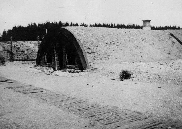 Barraks at Kaufering sub-camp