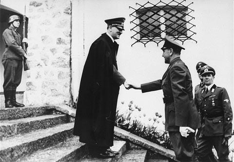 Hitler-Pavelic meeting