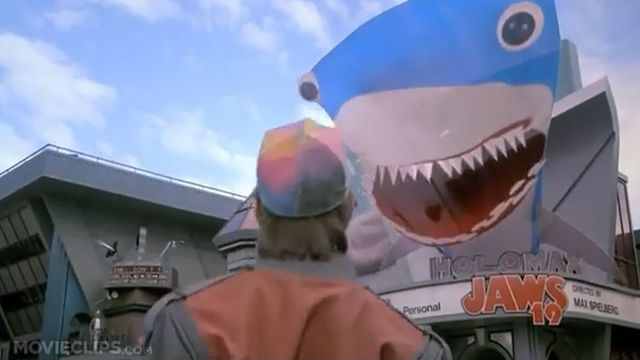 requin hologramme