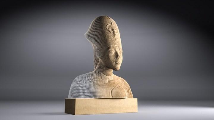 akhenaton buste refait