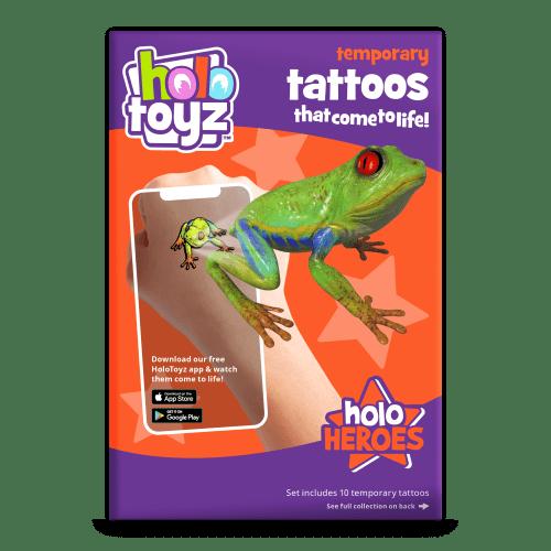 temporary tattoo qui prend vie holotoyz