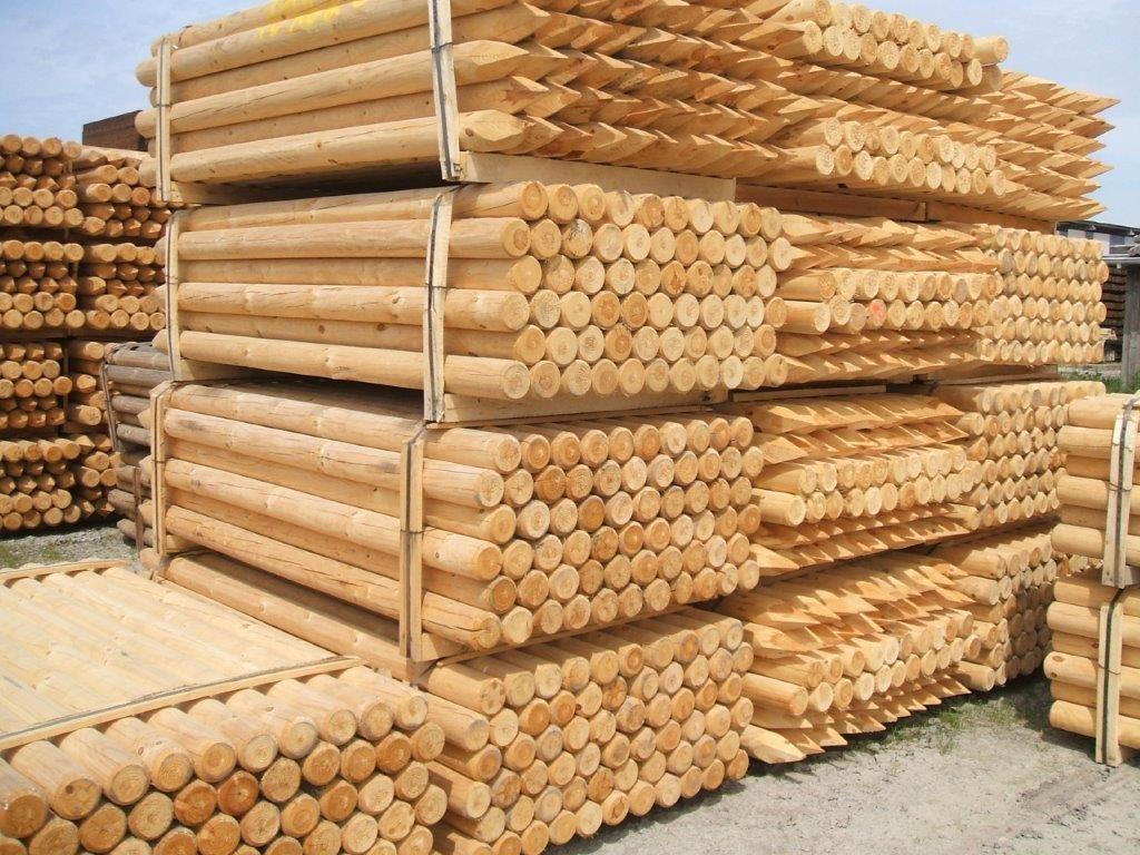 Zaunpfahl Holz Growi Zaunpfahl Holz Zubeh R Holzzaun