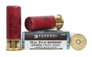 federal premium low recoil