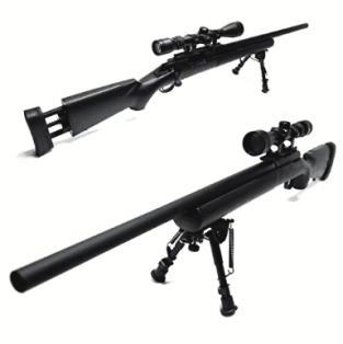 shooting with a bipod