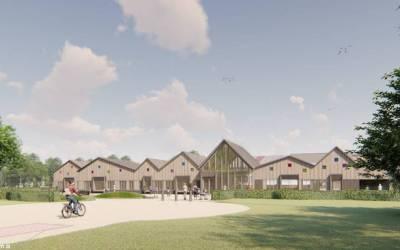 Nieuw te bouwen basisschool Holwerd komt deels in MFA
