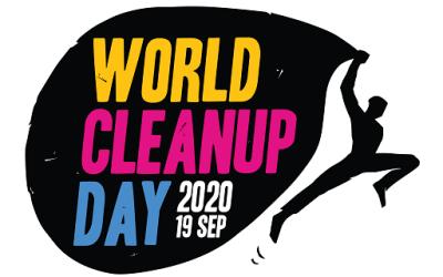 Zaterdag 19 september – World Cleanup Day – jij komt toch ook helpen?