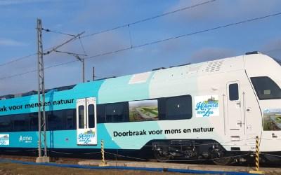 Holwerd aan Zee op nieuwe Arriva-treinen