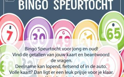 25 juni – Bingo Speurtocht voor jong en oud!