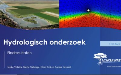 Hydrologische effecten getijdenmeer Holwerd aan Zee bekend