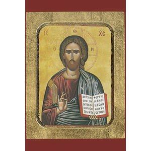 christ blessing icon