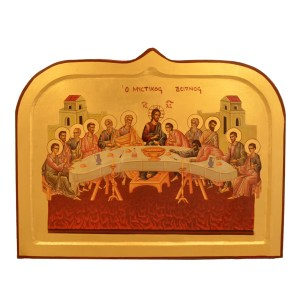 Wooden frame icon with decorative edge