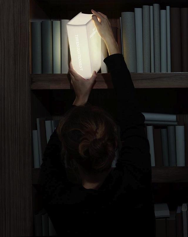 Enlightenment Book Lamp