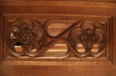 Choir stalls - front - head on