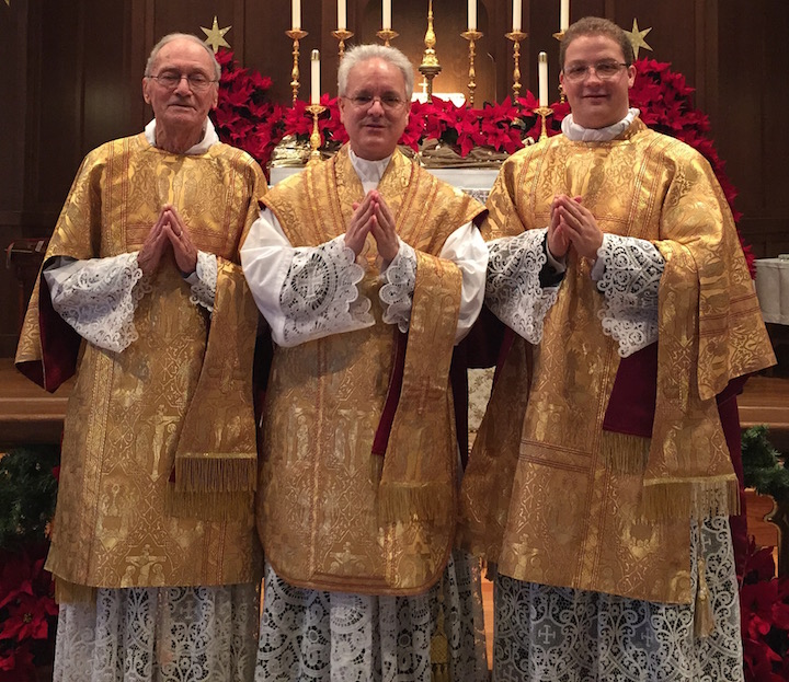 Deacon Ray, Father Finelli, Father Fleming Christmas 2014