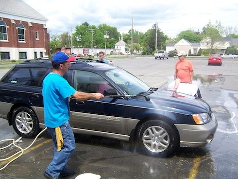 Fall Car Wash - Schenectady Bingo Palace