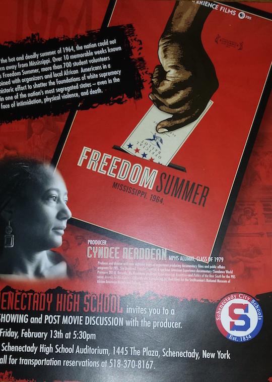 Schenectady High School - Freedom Summer
