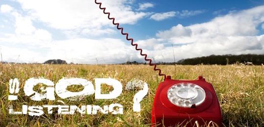 is-god-listening