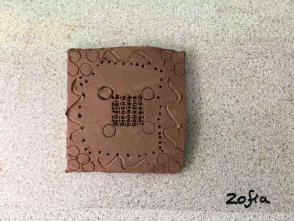Zofia clay tile