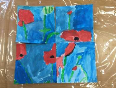 Water Colour Poppies (7)