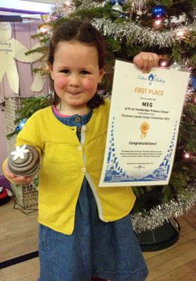 Edinburgh Evening News Christmas Cupcake competition