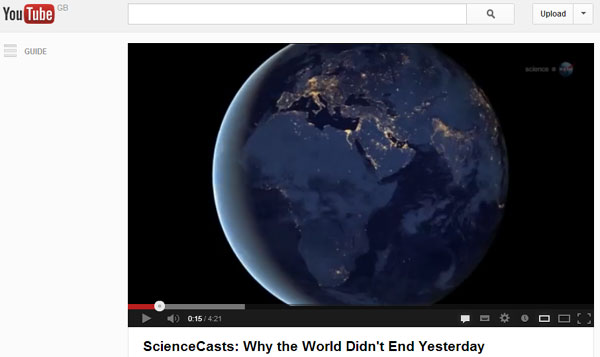 NASA WHY THE WORLD DIDN'T END