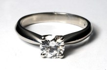 PR photography of the perfect diamond engagement ring