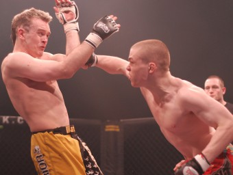 MMA fighter and philosophy student Anthony Thompson loses a bout in Glasgow
